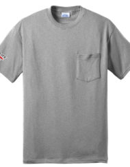Trade Life Core Blend Pocket Tee Athletic Heather