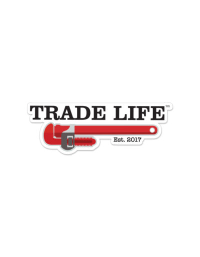Trade Life™ Removable Toolbox Decal