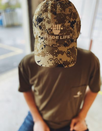 Green Digital Camo Cap | Trade Life